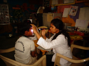 Eye Check-up camp at our centre!