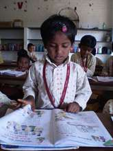 Educating girl children..
