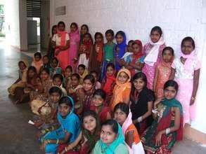 Ramjan celebrations in Isha Vidhya school