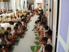 Pongal celebrations at Isha Vidhya school