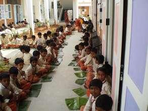 Pongal celebrations at Isha Vidhya school