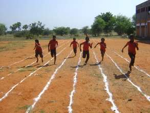 Tuticorin school running track