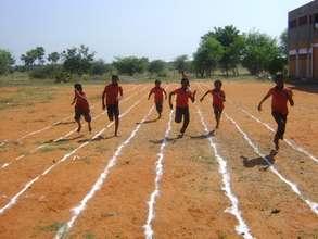 Tuticorin school running track