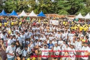 Isha Vidhya @ Chennai Marathon