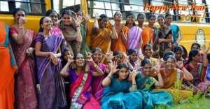 Teachers and staff of Isha Vidhya!