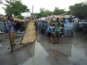 Touloum Refugee Camp in Chad