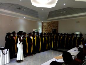 NDASHOBOYE graduates