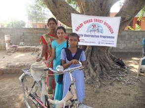 Girls Get Bicycle