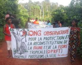 local community-based NGO OPRFT in action