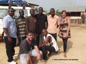 WCF Liberia team