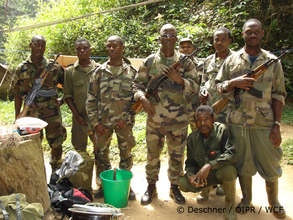 Forest guards from the OIPR
