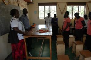 Trainees Listens to Executive VP LACONA