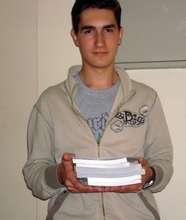 New textbooks for Emre Cico