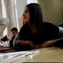 Jovana in class