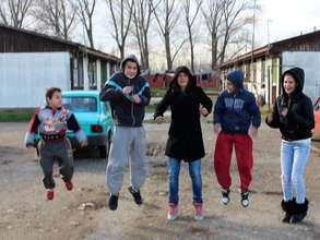 Children in a Collective Centre in Krnjaca