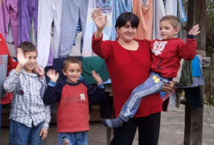 Helping the family with five children