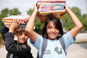 Give refugee children in Serbia hope for education