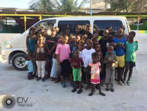 Thanks for giving HTDC orphanage this bus!