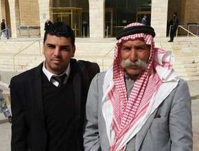 Attorney Mahameed & Sheikh Sayyah of Al-Araqib