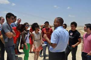 Law students learn about Naqab land discrimination