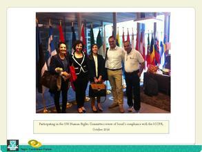 Nadia, Nadeem & Khalil @ UN ICCPR's Review of IL
