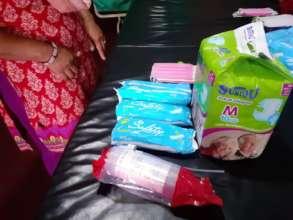 sanitary materials