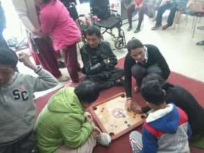 Children and Youth with Disabilities playing