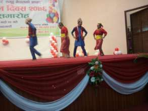 dance in program at National level