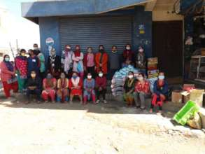 Relief Distribution site