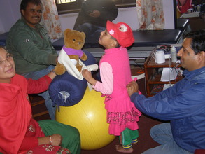 physio therapy to Children