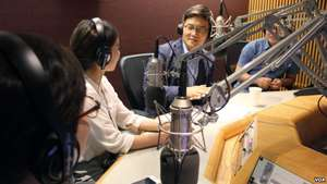 NK students interviewed by Voice of America