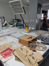 In laboratory - preserving documentation