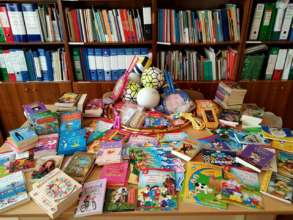 Toys and Books