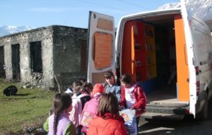 Children Choosing a Book
