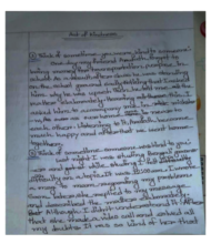 """Grade 9 child on our Telegram group on kindness"""
