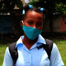 School in Haiti, September 2020