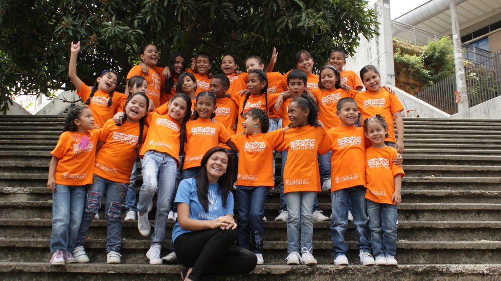 Youth singers transform lives by teaching others