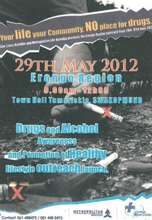 Flyer for Blue Cross Awareness Event