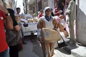 Emergency Food Distribution - Syria