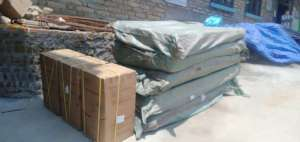 Shipped hospital beds and oxygen concentrator