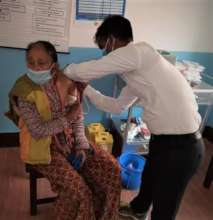 Vaccination at DCWC Community Hospital