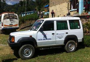 Our newly donated Ambulance