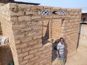 #2: A widow's home under construction