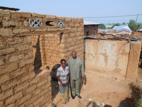 #1: Small house under construction for a widow