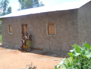 A new home build for a widow family