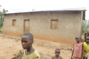 #1. A home built for a widow and children around