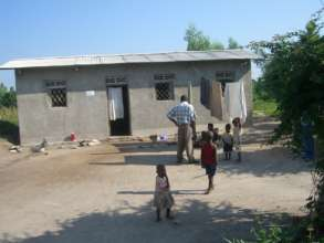 #4: One of the homes we built for widows