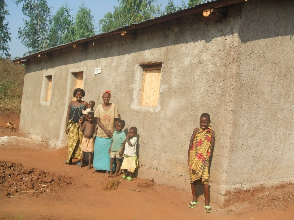 PROVIDING SHELTERS TO 100 WIDOWS IN BUGANDA