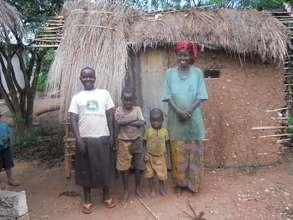 PROVIDING SHELTERS TO 100 WIDOWS IN BUGANDA