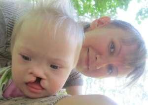 Tatiana with her daughter